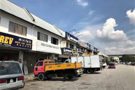 Link factory for rent Kinrara industry park Puchong Selangor
