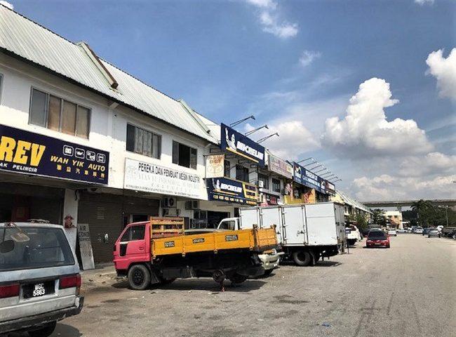 Link factory for rent Kinrara industry park Puchong Selangor
