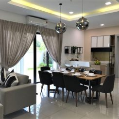 New double story house for sale Puchong -review