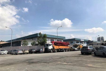 Puchong Kinrara semi detached factory for rent
