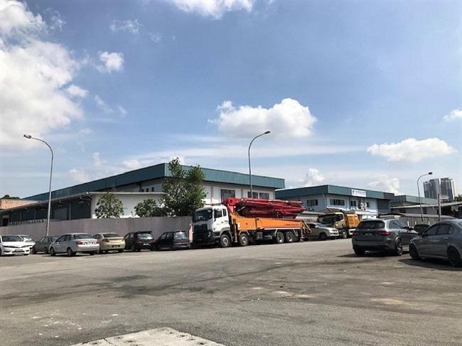puchong kinrara industrial park selangor for rent